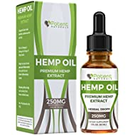 Hemp Oil Drops :: Supports Anti-Anxiety and Stress Health :: Natural Potent Drops :: Packed with Omega 3 Fatty Acids :: 1 Fl Oz. (30ml) 1 Month Supply :: Sans CBD :: Potent Naturals