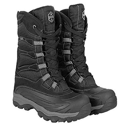 Khombu Men's Free Fall Extreme Winter Boots, Black 9