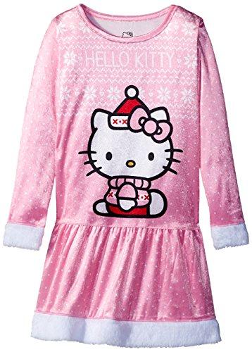 Hello Kitty Big Girls' Holiday Dorm, Pink, Medium