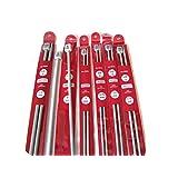 2.75mm, 3mm, 12 Knitting Needles, 2.75mm, 3mm, 3.5 mm, 3.75mm,