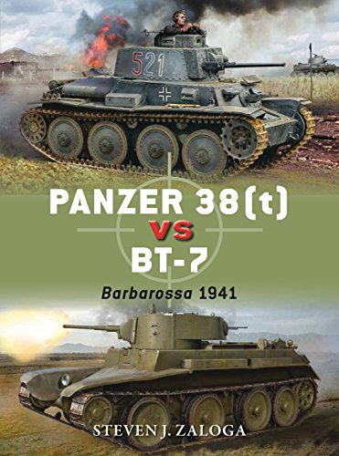 panzer 38t vs bt 7 barbarossa 1941 duel