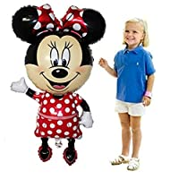 CuteTrees Giant Minnie Mouse Foil Balloon 43 inch for birthday party birthday decoration christmas