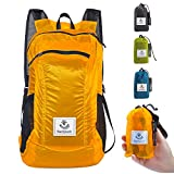 4monster Durable Packable Backpack by Ultra Lightweight Water Resistant Travel Hiking Foldable Outdoor Daypack, 24L