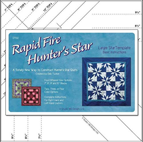 - Rapid Fire Hunter's Star LARGE Template Studio180 Design