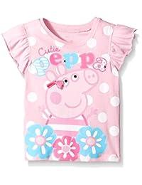Peppa Pig Little Girls' Polka Dot Tee