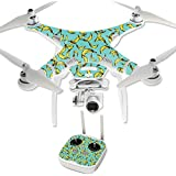 MightySkins Protective Vinyl Skin Decal for DJI Phantom 3 Professional Quadcopter Drone wrap cover sticker skins Bananas