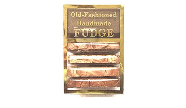 Pride Of India viejo fudge chai caja cremosa lisa hecha a mano de moda fudge té surtido (4 rebanadas de 1 libra): Amazon.es: Alimentación y bebidas