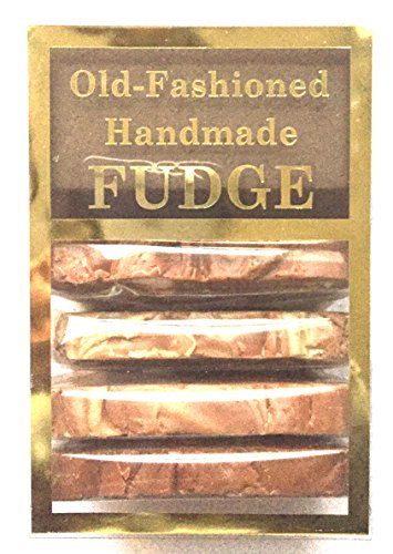Old Fashioned Handmade Kettle Cooked Smooth Creamy Fudge - Coffee Fudge Assorted Box (4 Slices - 1 Pound)