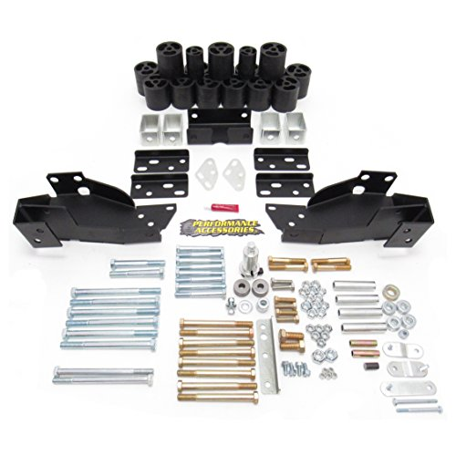 Performance Accessories (10193) 3″ Body Lift Kit for Chevy/GMC