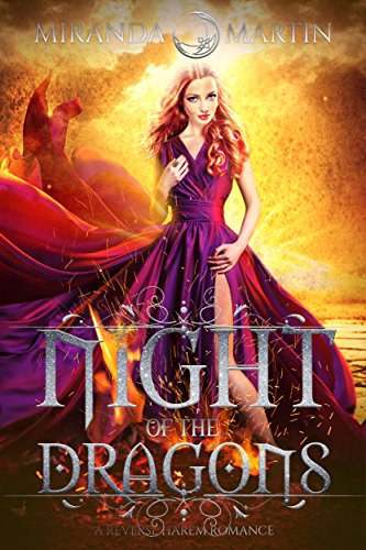 Night of the Dragons: A Reverse Harem Romance (Red Planet Dragons of Tajss) cover
