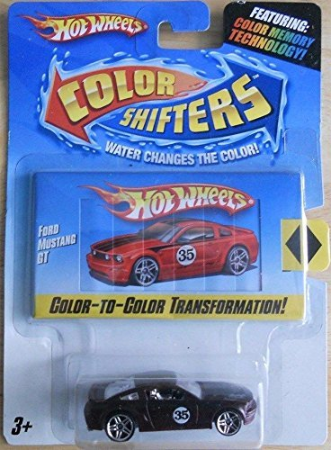 Hot Wheels Color Shifters Red Ford Mustang GT 1:64 Scale Collectible Die Cast Car