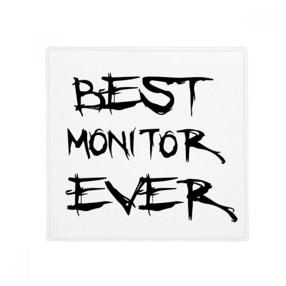 DIYthinker Best Moniter Ever Graduation Season Anti-Slip Floor Pet Mat Square Home Kitchen Door 80Cm Gift