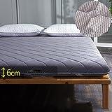 Antibacterial Mattress Thicken Tatami Floor mat,Cooling Mattress Topper Japanese Traditional futon Mattress Japanese futon Mattress Hypoallergenic Deep Pocket-B 150x200cm(59x79inch)