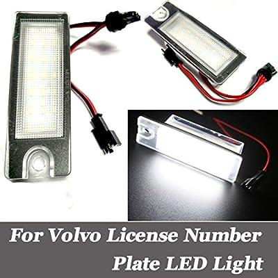 For S60 S80 V70 XC70 XC90 License Plate Lights DC12V