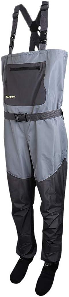 Injoyo Pantalones de Pesca de Vadeadores Correa de Hombro para ...