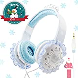 Over Ear Headphones for Kids By VCOM - Princess Design - For iPad, Computer, Tablet, Smartphone - Suitable for 6-12 Years Old Children - Available in 2 Colors