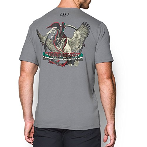 Under Armour Men's Bad Duck T-Shirt, Steel/Black, Large Duck Hunting T-shirt