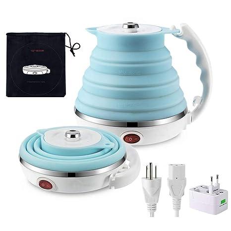 Amazon.com: Hervidor eléctrico plegable de viaje – Hervir ...