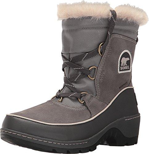 Sorel Women´s Tivoli III Waterproof Faux Fux Boot Quarry/Cloud Grey 9