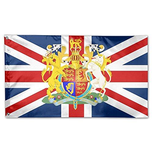 Pickle Rick British Flag Brass Grommets,Quadruple Stitched F