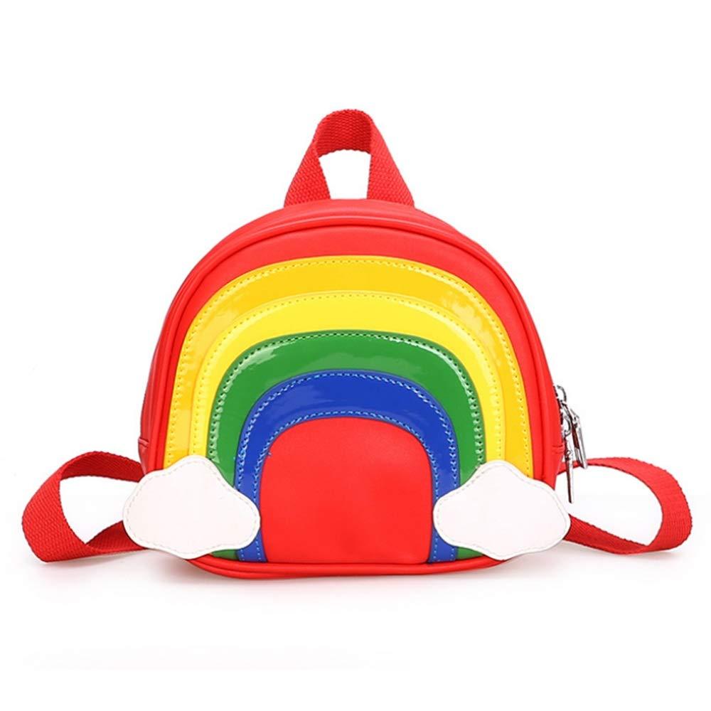 Kindlov-BG Walking Safety Harness Backpack Toddler Backpack with Belt Harness for Girls Toddler Child Kid Strap Backpack Bag (Color : Red)