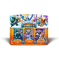 Activision Skylanders Giants Paquete de 3 Gill Grunt Flashwing Doble problema