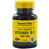 Nature's Plus, Vitamin B-1, 300 mg, 90 Tablets - 3PC