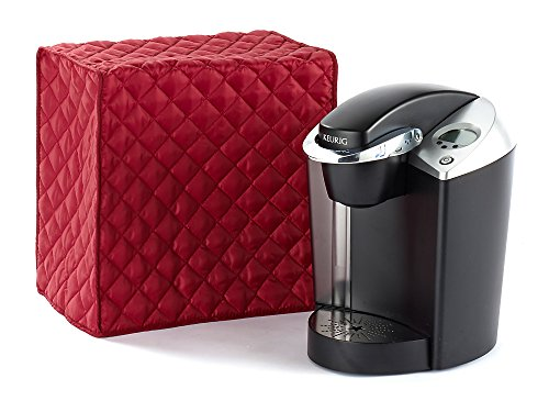 CoverMates – Keurig Coffee Maker Cover – 14W x 9D x 14H – Diamond Collection – 2 YR Warranty – Year Around Protection - Red