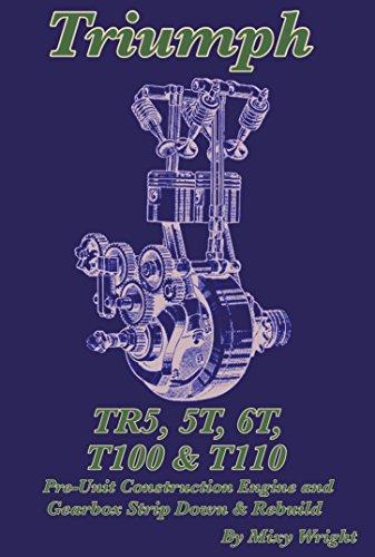 TRIUMPH TR5, 5T, 6T, T100 & T110: Pre-Unit Construction Engine and Gearbox Strip Down and Rebuild (Unit Gearbox)