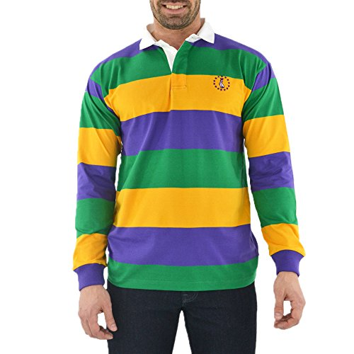 Seller profile brothersontheblvd for Lacoste mardi gras rugby shirt
