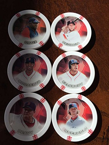 2014 Topps Chipz Boston Red Sox Team Set 6 Poker - Walking Set Dead Poker