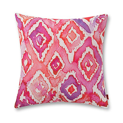 baibu Pop Art Watercolor Pattern Cushion Cover Polyester Throw