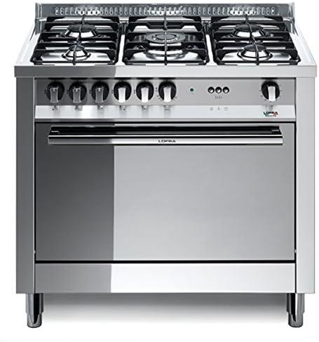 Lofra MG96GV/C - Cocina (Cocina familiar tipo industrial, Acero ...