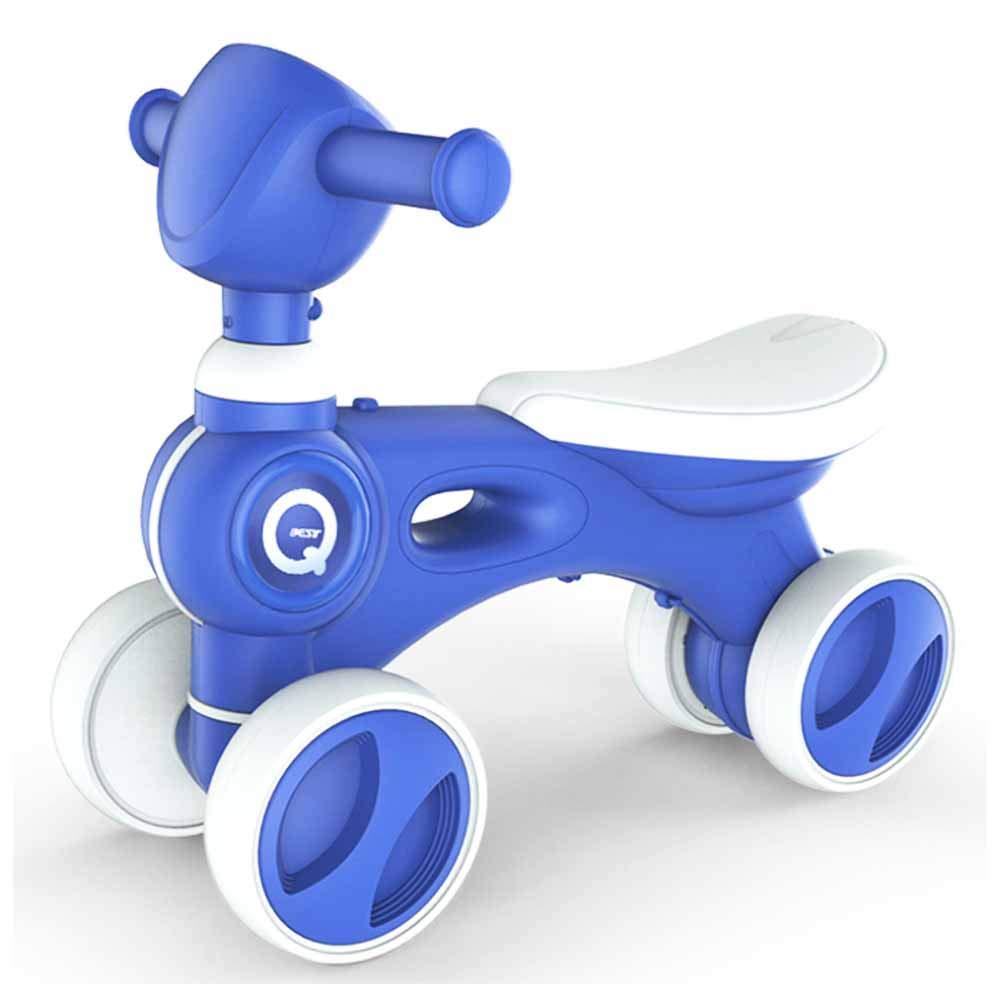 salida de fábrica azul MUYU Caminante de 4 Ruedas para para para niños pequeños con Musica Tobogán para niños Bicicleta sin pies Apto para niños de 1 a 5 años.  disfrutando de sus compras