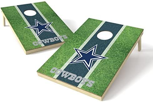 Wild Sports NFL Dallas Cowboys 2' x 3' Field Cornhole Game Set [並行輸入品]