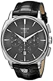 Tissot Men's  'T Lord' Black Dial Stainless Steel Chronograph Automatic Watch T059.527.16.051.00