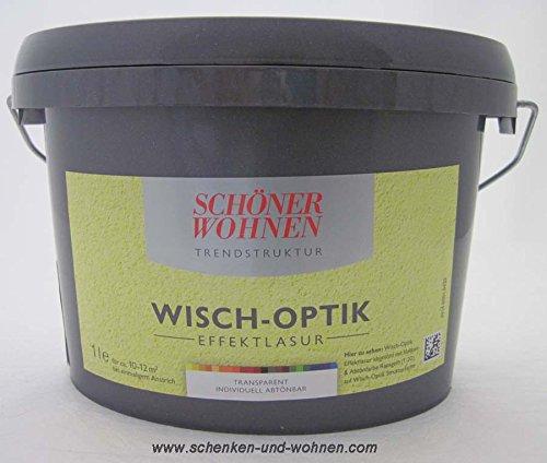 Wisch-Optik Effektlasur 2, 5 l abtö nbar Schöner Wohnen