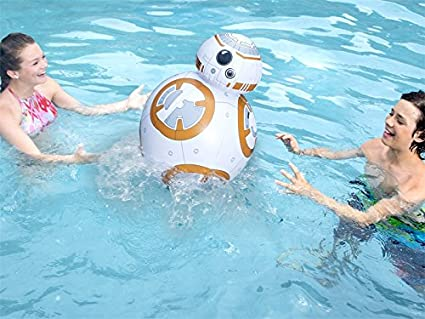 Star Wars Pool Toys Inflatable Pool Toys Floating Toy SwimWays Star Wars BB-8 Inflatable Pool Toy