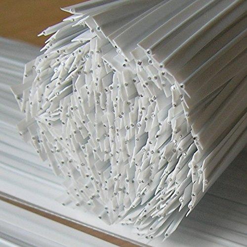 200pcs Plastic twist ties, 5