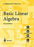 img - for Basic Linear Algebra 2nd Edition book / textbook / text book