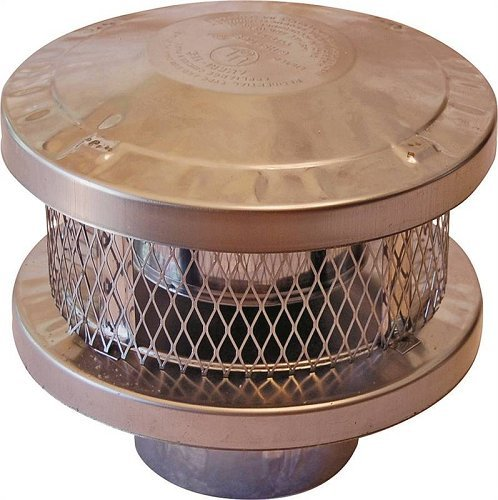 Cap Vent Round 6in 3-Wall AMERICAN METAL PRODUCTS 6HS-RCS