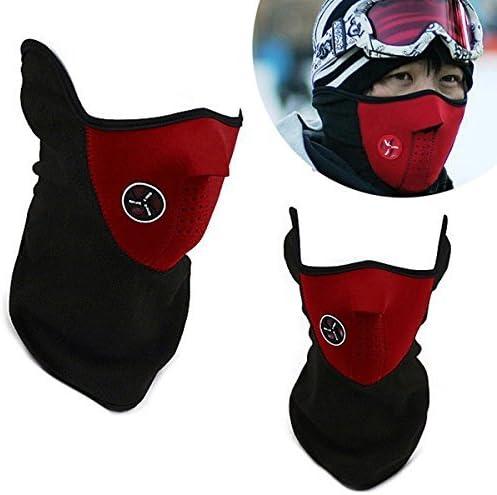 Naisicatar - Máscara de neopreno para esquí o snowboard (forro ...