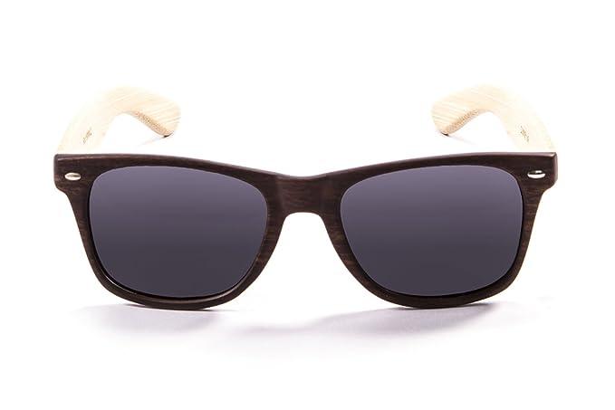 Ocean Sunglasses lihue - lunettes de soleil en Bambou - Monture : Bambou - Verres : Fumée (52000.2) b6jID