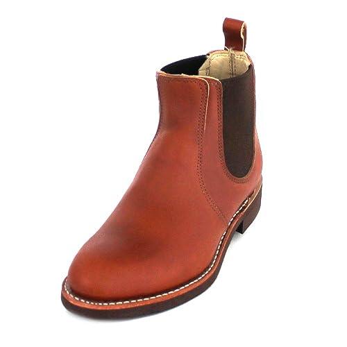 Red Wing Shoes - Botines Chelsea de Cuero Mujer: Amazon.es: Zapatos y complementos