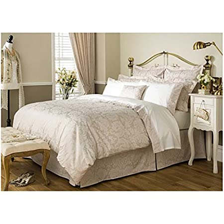 Christy Figaro Champagne Bedlinen Collection Duvet Cover Double