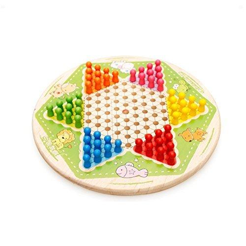 ソリッド木製11.2` Chinese Checkersの商品画像