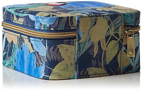 Oilily Ff Jewelry Case - Bolso de mano Mujer Azul - Blau (Blueberry 546)