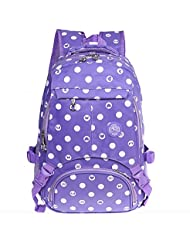 Cute Patterned Waterproof School Backpack for Girls