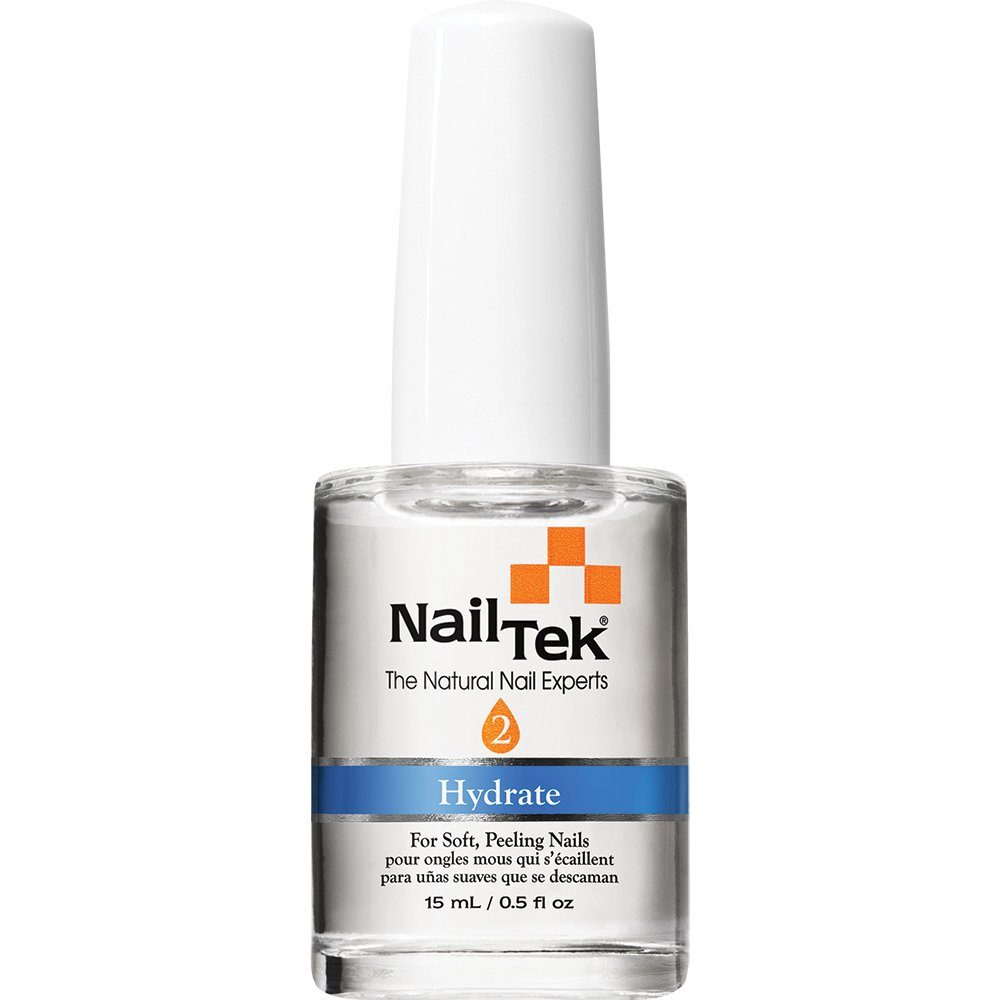 Amazon.com : Nailtek Hydration Therapy for Soft Peeling Nails, 0.5 ...