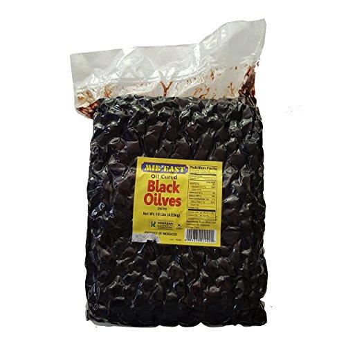 Mid East Oil Cured Black Olives 10lbs